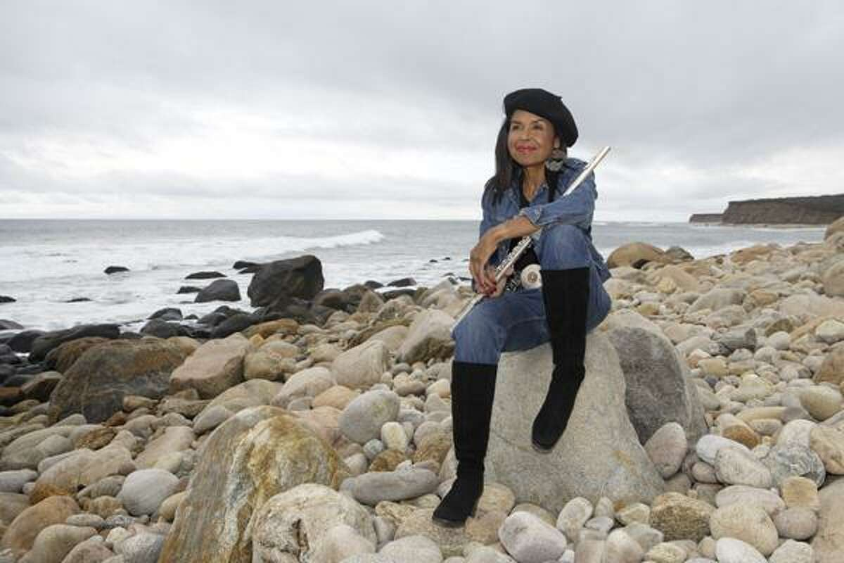 """Jazz flutist Sherry Winston will close the first day of the """"Art at Ives"""" festival with an evening concert with her band at Ives Concert Park in Danbury on June 1."""