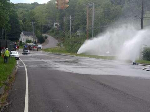 Gas Leak In Car >> Update Shelton Gas Leak Repaired Connecticut Post