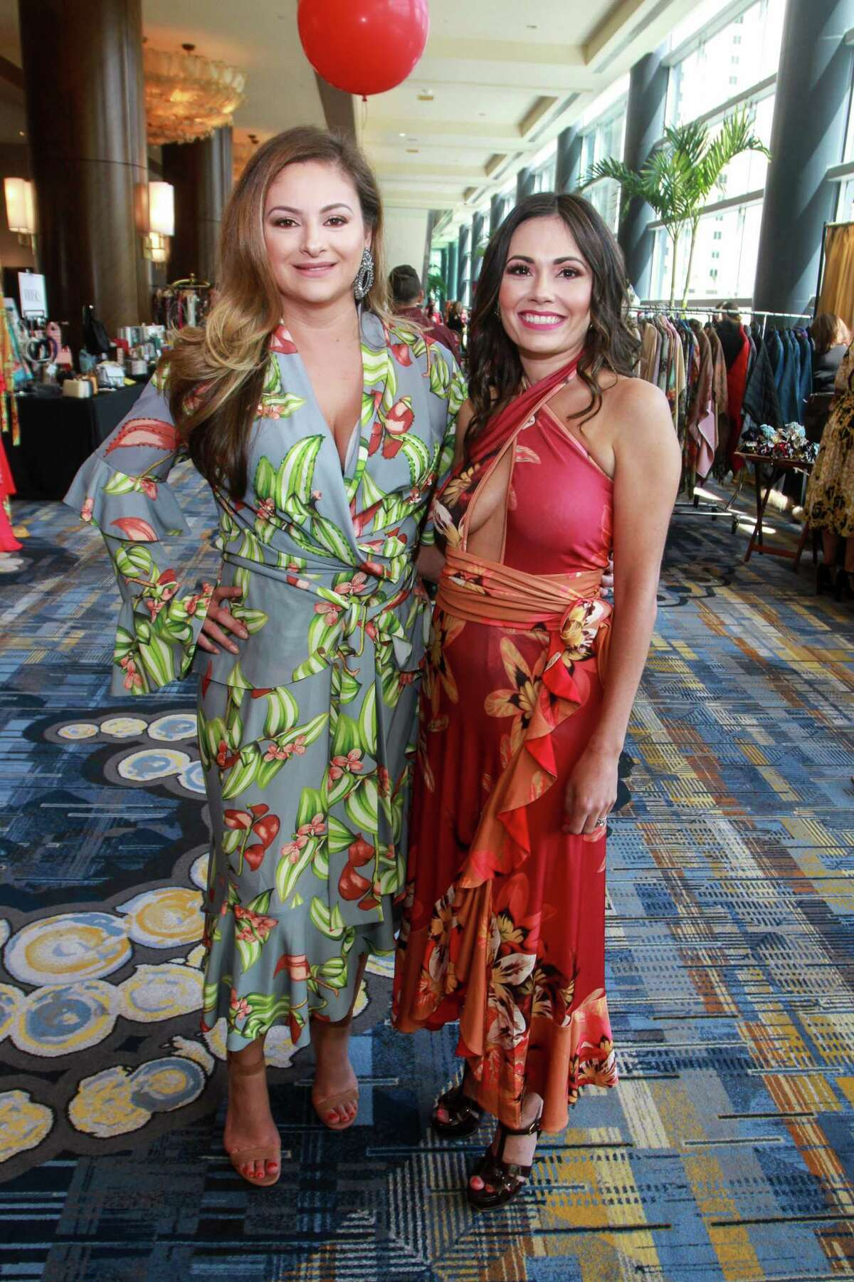 Chairs Maritza Gonzales, left, and Michele Leal Farah at the Latin Women's Initiative luncheon.