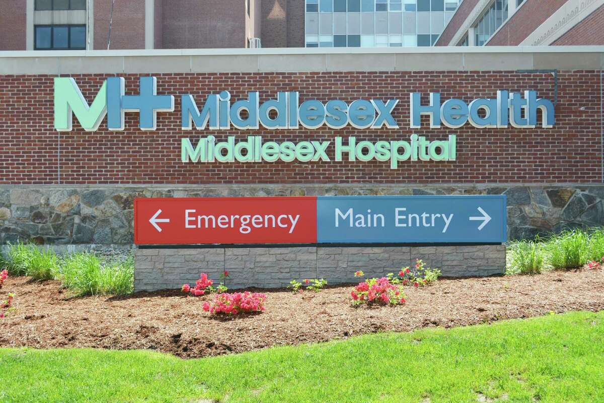 Middlesex Health's emergency department in Middletown