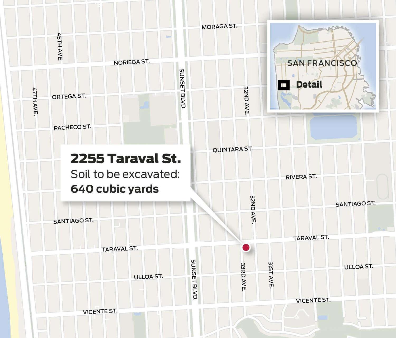 Map of 2255 Taraval Street