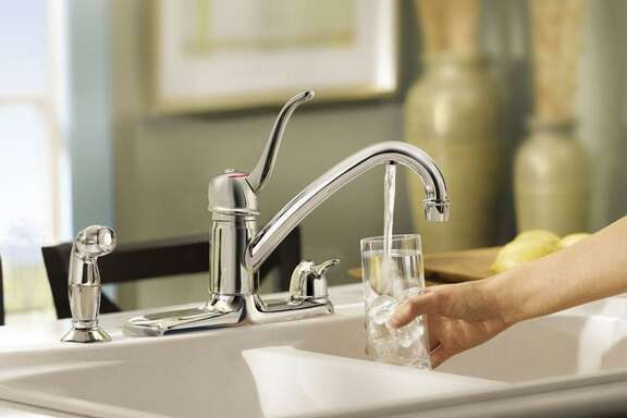 The city would establish and maintain rules and policies to conserve water supplies during droughts and other emergencies where water supplies may be low. Shown here: Moen's new ChoiceFlo faucet gives you filtered drinking water and regular tap water. (Handout/MCT)
