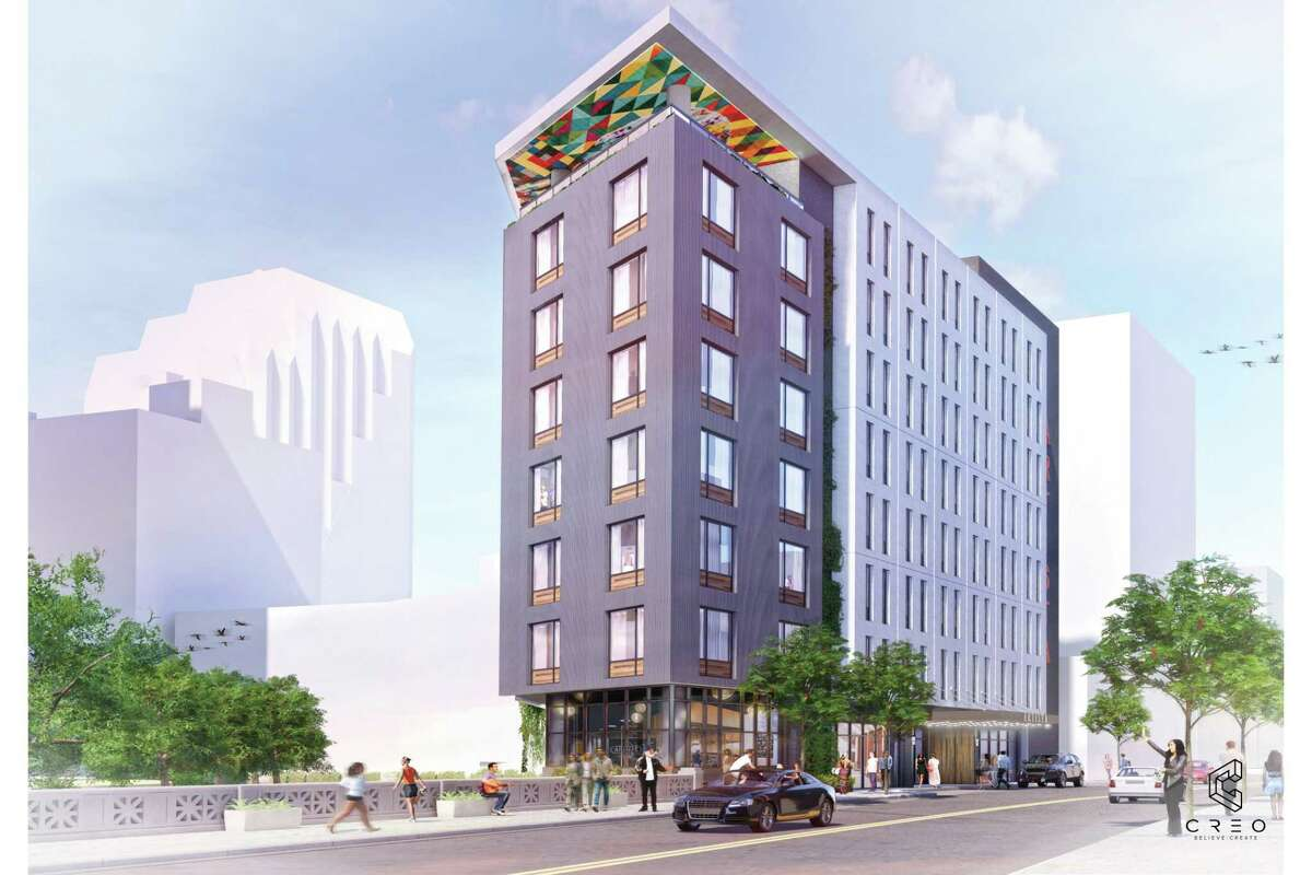 California developer Harris Bay plans to build a 112-room boutique hotel on a River Walk-adjacent property it bought in April, its co-founder said Monday.