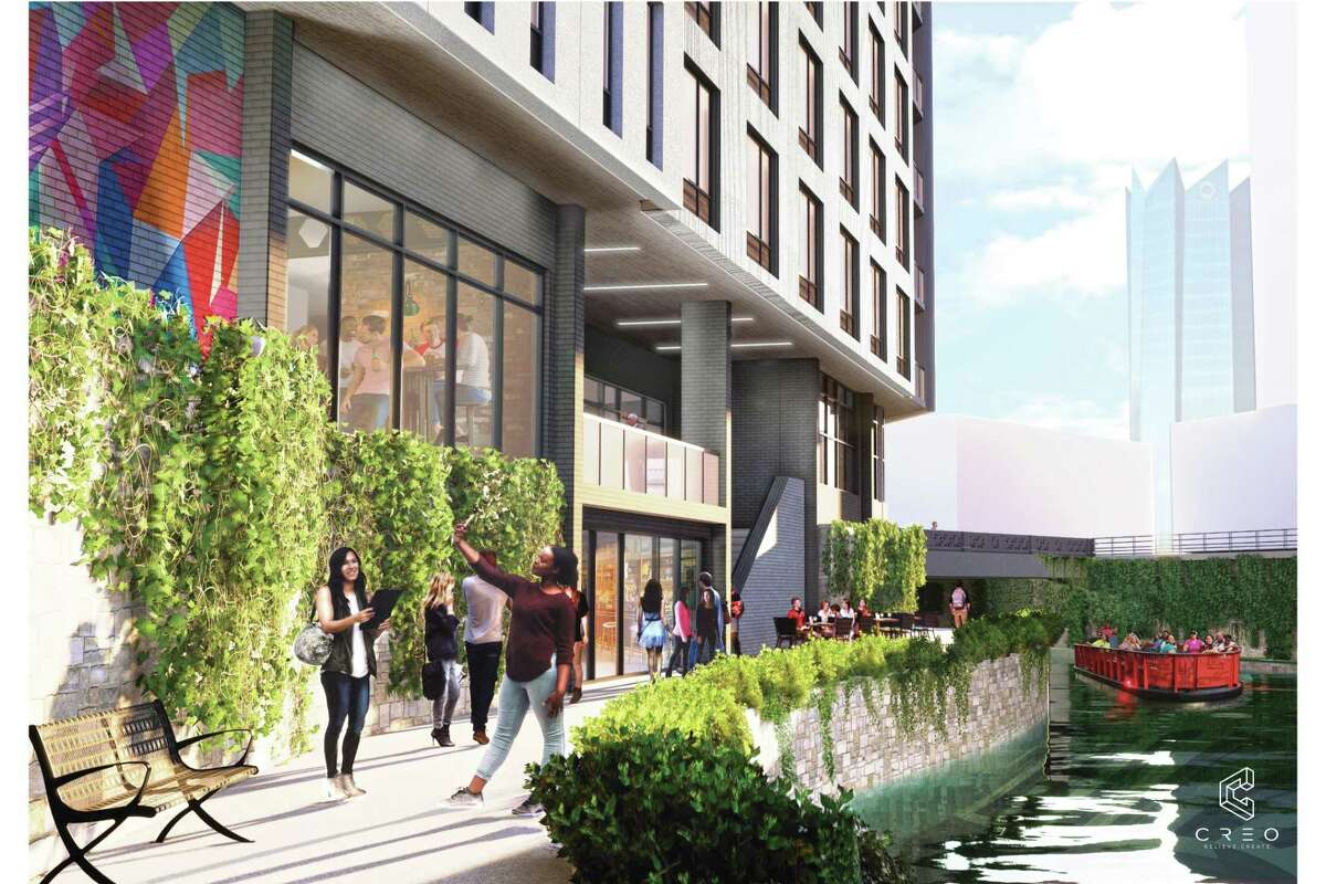 The proposed eight-floor development will also feature a rooftop bar, restaurant and some retail, Harris Bay co-founder Jake Harris said.
