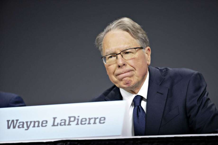 The actions of Wayne LaPierre, chief executive officer of the NRA, has disillusioned one reader. Photo: Daniel Acker /Bloomberg / © 2019 Bloomberg Finance LP