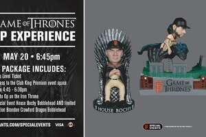 The Giants say two ticket packages for Game of Thrones fans sold out well in advance of Monday night's game.