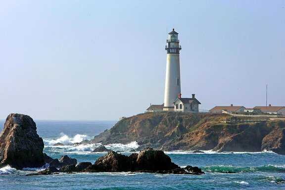 Pigeon Point Lighthouse in Pescaddero Calif., on December 4, 2008 is now one of the oldest lighthouses on the west coast.