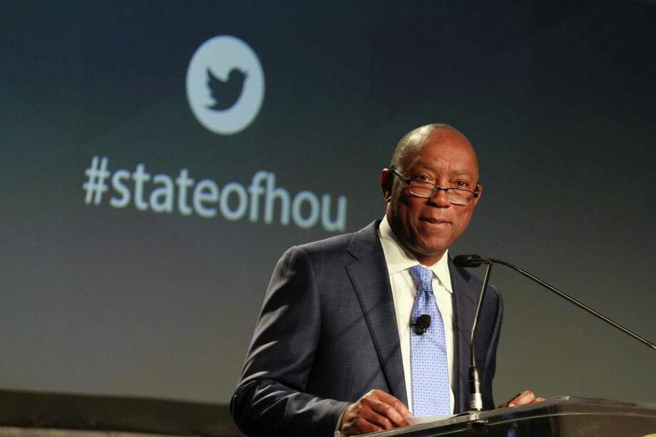 FILE - Mayor Sylvester Turner speaks during his annual State of the City address on Monday, May 20, 2019. Photo: Contributor / © 2019 Gary Fountain