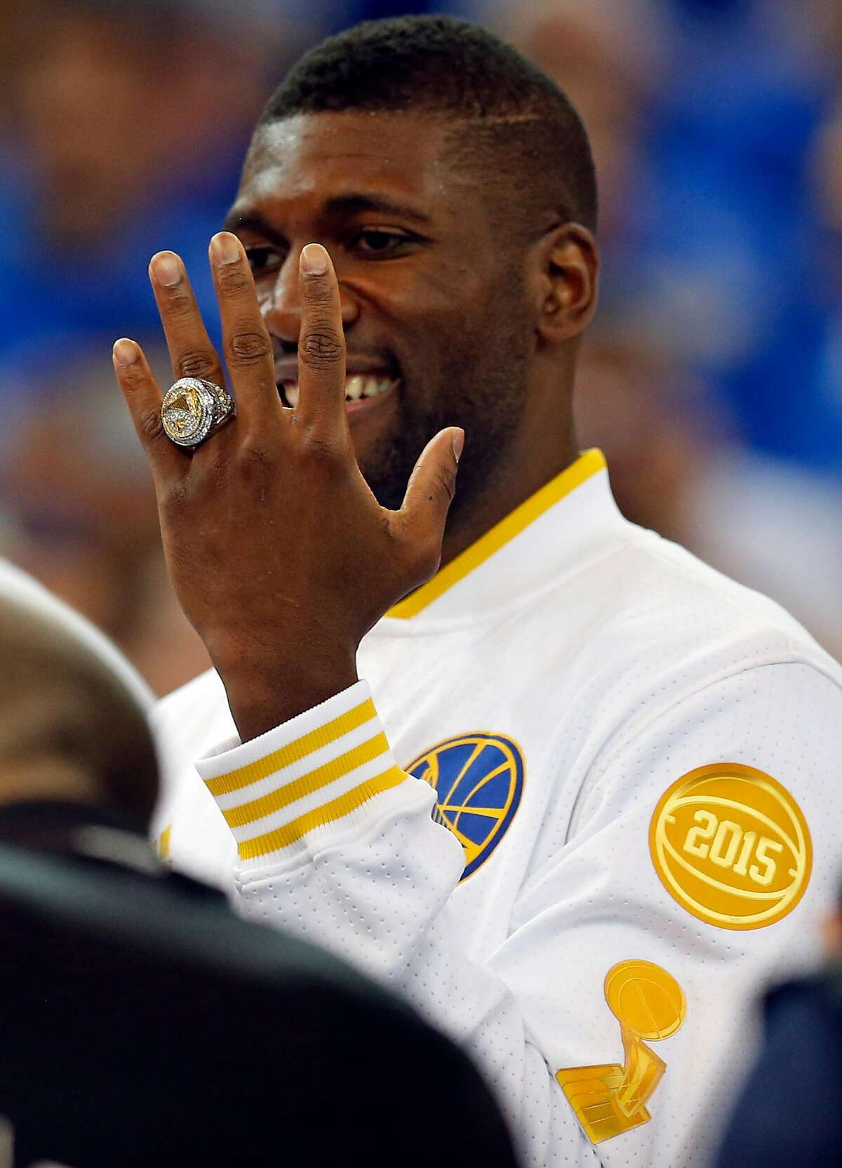 Festus Ezeli: Hasn't played in an NBA game since undergoing knee surgery in 2017 Like many of his Warriors teammates, Ezeli left the team in 2016 after the arrival of Kevin Durant. The center signed with the Portland Trail Blazers, but never played a game with them (or anyone else) after dealing with a series of knee procedures. Ezeli is still active on Twitter and often tweets during Warriors games.