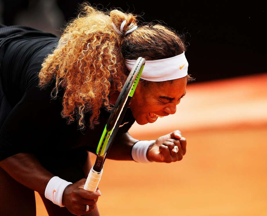 With the French Open set to start Sunday, the 10th-ranked Williams has played in just one match on clay courts since last year's tournament at Roland Garros. Photo: Adam Pretty / Getty Images