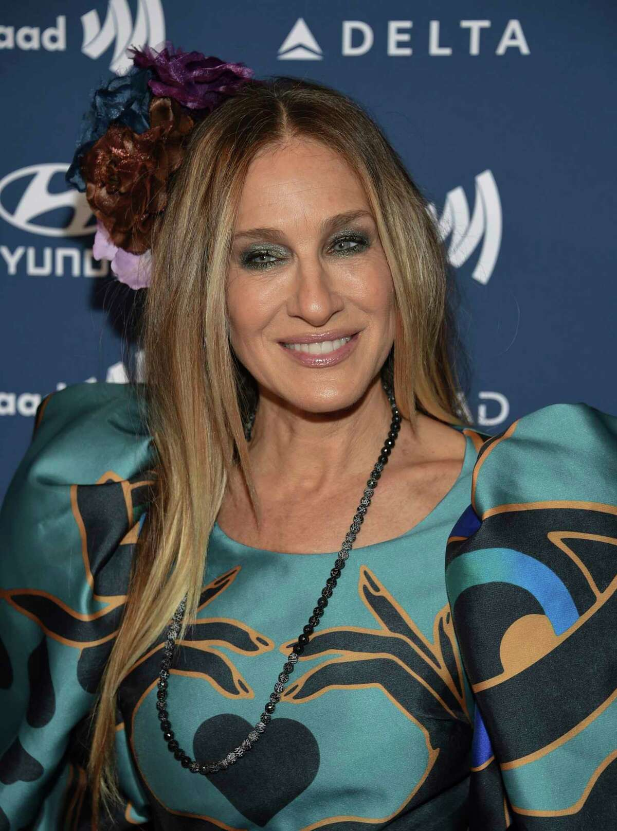 Actress Sarah Jessica Parker attends the 30th annual GLAAD Media Awards at the New York Hilton Midtown on Saturday, May 4, 2019, in New York. (Photo by Evan Agostini/Invision/AP)