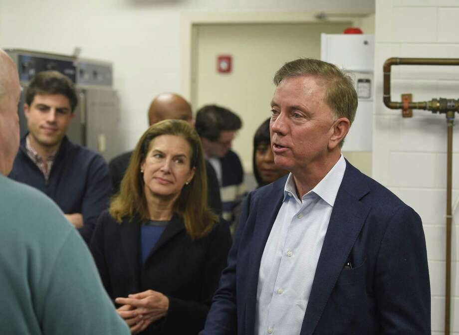 Gov. Ned Lamont and Lt. Gov. Susan Bysiewicz Photo: Tyler Sizemore / Hearst Connecticut Media / Greenwich Time