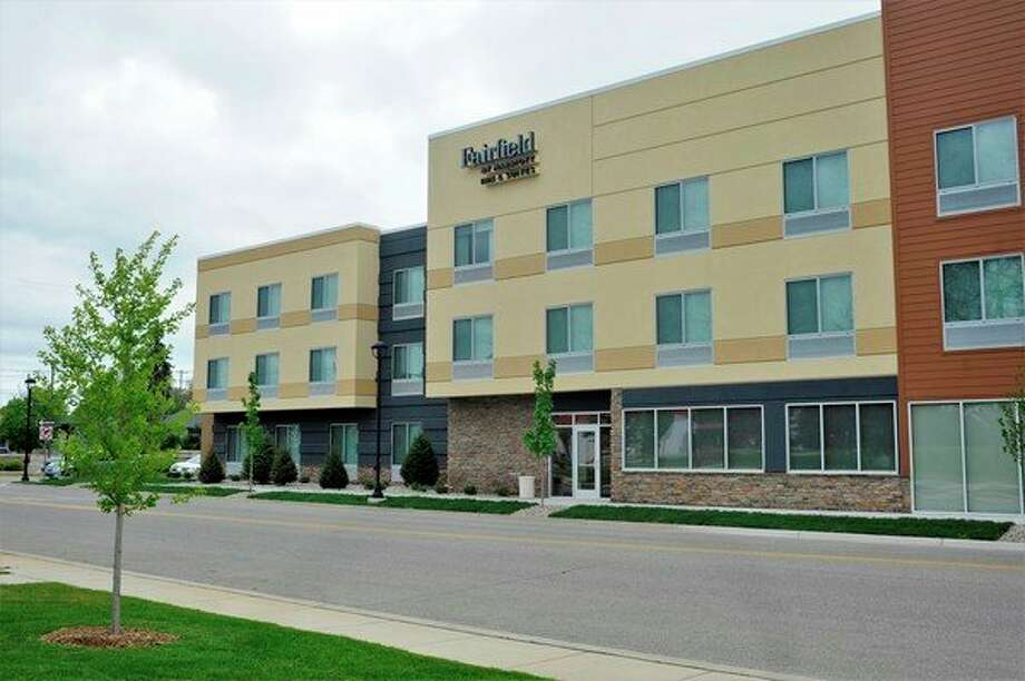 The Fairfield Inn and Suites in Midland is located at 506 E. Buttles St., across from Putnam Park and the East End complex. (Ashley Schafer/ashley.schafer@hearstnp.com)