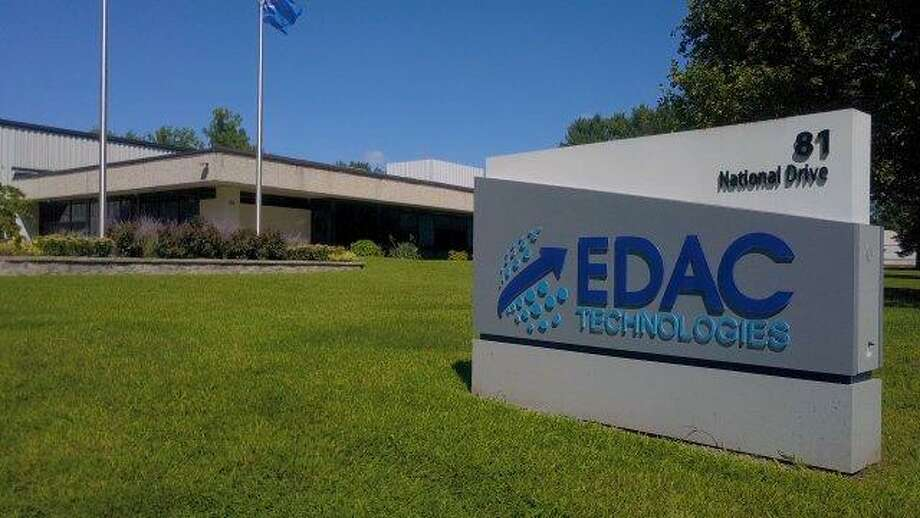 A man was flown to Hartford Hospital by Life Star after getting stuck in a machine at an aerospace and defense manufacturing company on Tuesday, May 21, 2019. The industrial accident occurred at EDAC Technologies on National Drive in Glastonbury after midnight, reports said. Photo: /