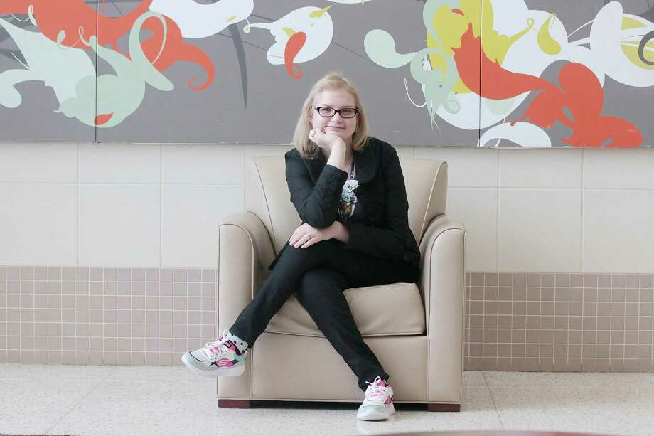 "Next stop is University of Texas at San Antonio for Deer Park High School graduating senior Jessie Raney, a cancer survivor who has overcome health issues that affected her mobility and learning progress. But she's looking beyond that to a career teaching in Japan, where she studied last summer. ""It felt like home, like I'd seen it all before,"" Raney says. Photo: Pin Lim, Contributer / For The Chronicle / Copyright Forest Photography, 2019."