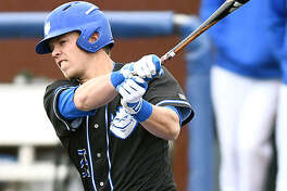Saint Louis University's's Jake Garella, a junior outfielder from Edwardsville, was named the Atlantic 10 Conference Baseball Player of the week Monday. It was his second A-10 Player of the Week honor in three weeks.