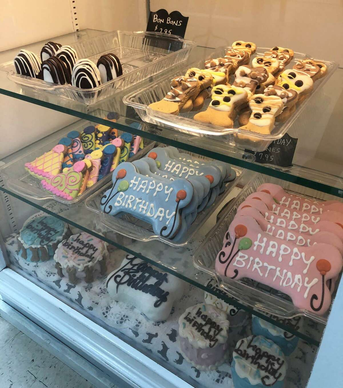 Spectrum/Debbie Bauman, owner of The Barkery Boo'tique in New Milford has moved the business from Bank Street to 92 Park Lane Road (Route 202). A variety of special baked goods are among the items sold at the store. May 2019