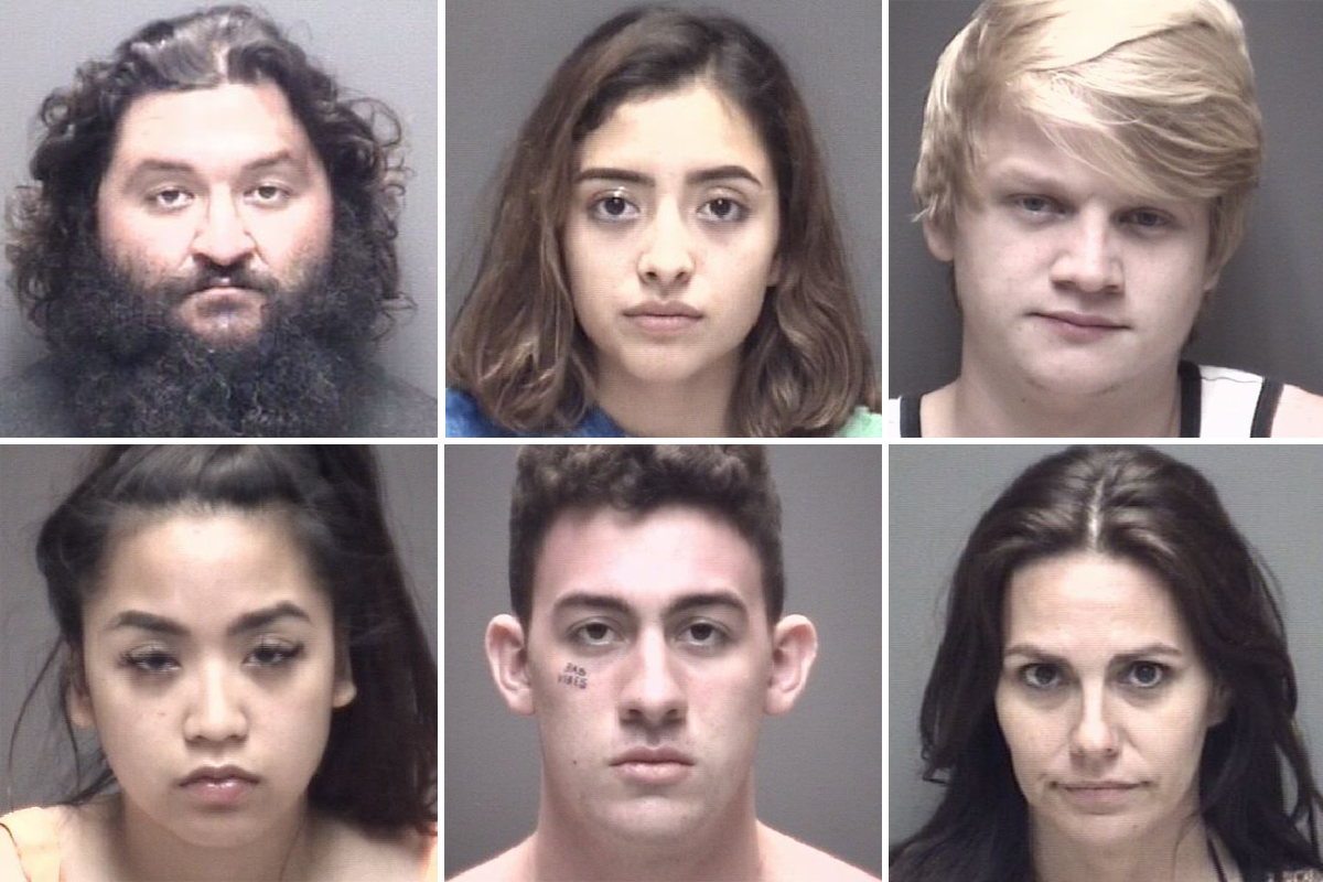 See who was arrested at the 'Go Topless' Jeep event in Crystal Beach