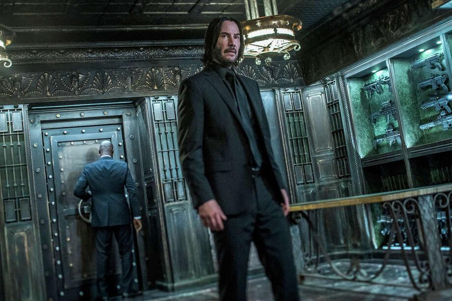 "Keanu Reeves as John Wick in ""John Wick: Chapter 3 -- Parabellum."" Photo: Niko Tavernise, Summit Entertainment / ©2018 Niko Tavernise"