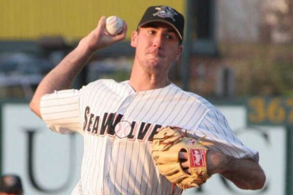 Houston Astros pitcher Justin Verlander pitched in Class AA for the Eerie SeaWolves in 2005.