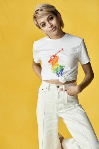 798cccfc7b  p PRIDE  Josie Totah for the Ralph Lauren Pride capsule collection