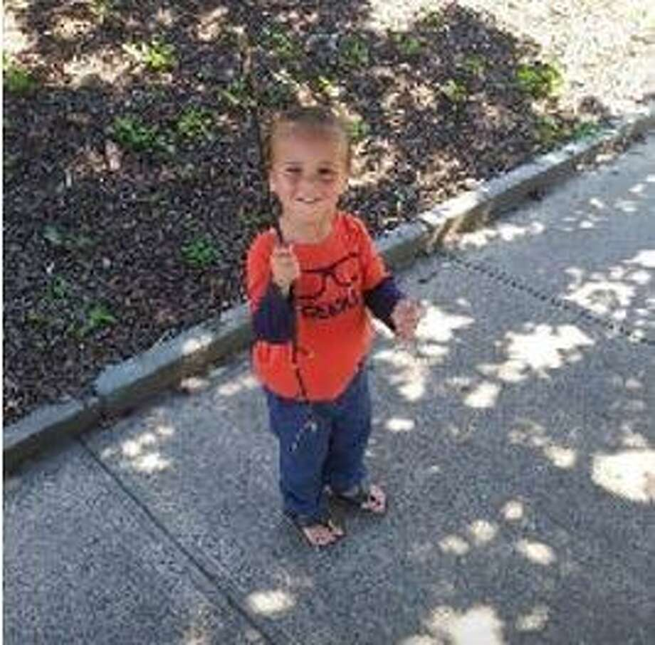Police are looking for Tristan Rathburn, 3, and Lauren Wojtusian, 32. Both were reported missing from New Haven in April. Here, Rathburn. Photo: New Haven Police Department /