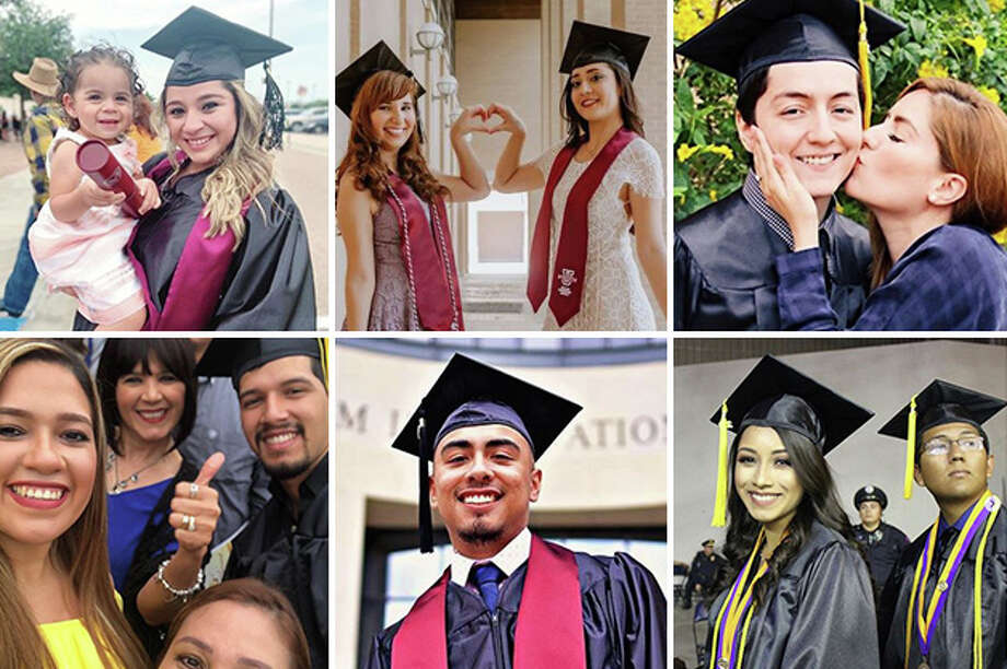 Laredo College and TAMIU graduates took to social media to celebrate the completion of their college career. Photo: Laredo Morning Times