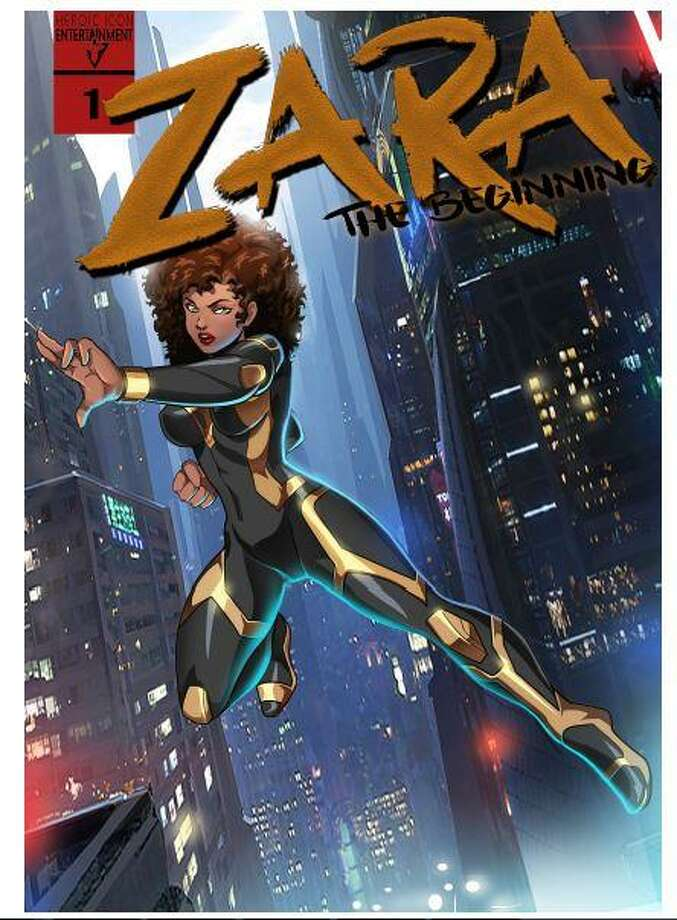 """""""ZARA: The Beginning"""" is Devyn Nicole's first try at comic books. Through the series, Devyn hopes to encourage young people to overcome their fears and adversities. Photo: Courtesy Photo"""
