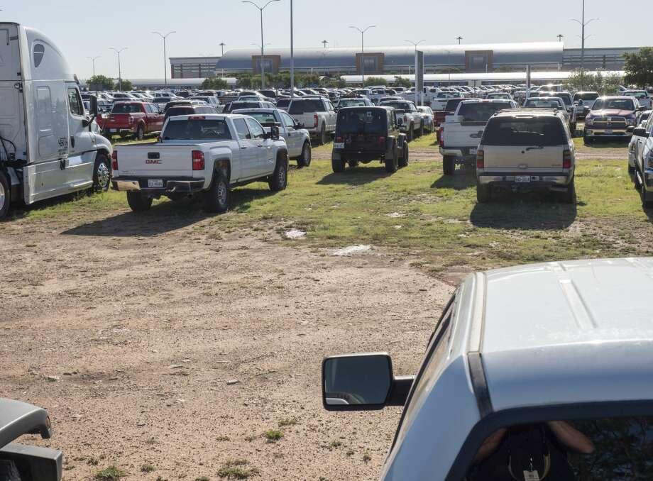 Overflow parking at Midland International Air and Space Port 05/21/19. Tim Fischer/Reporter-Telegram Photo: Tim Fischer/Midland Reporter-Telegram