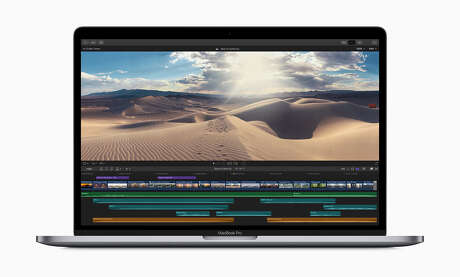 Apple's 2019 MacBook Pro models include faster processors and a change to the design of its keyboards to prevent sticking or ignored keystrokes.