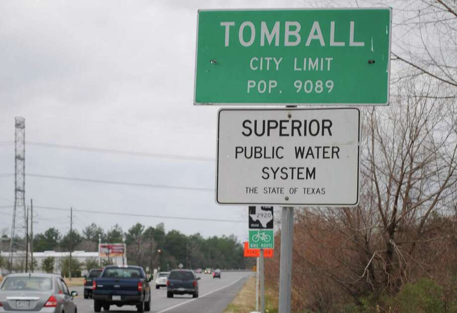 The sign declaring Tomball's water superior has been posted since the 1990s, but few people perhaps recognize what having a superior water system really means. Photo: Anna Schumann / The Potpourri / The Potpourri