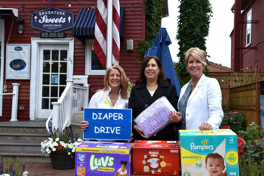 From left, State Rep. Brenda Kupchick; Carla Miklos, executive director of Operation Hope; and State Rep. Laura Devlin. Photo: Contributed Photo