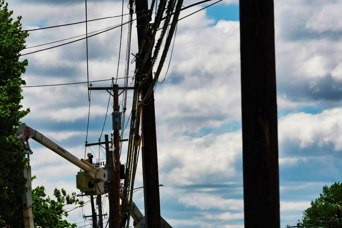 FILE. Letter writer says, ' Wire on poles is a cheap solution, and the decision-makers who keep replacing the poles need to do it the cheapest way. The cheap solution is always the best solution, right?' (Paul Buckowski/Times Union)