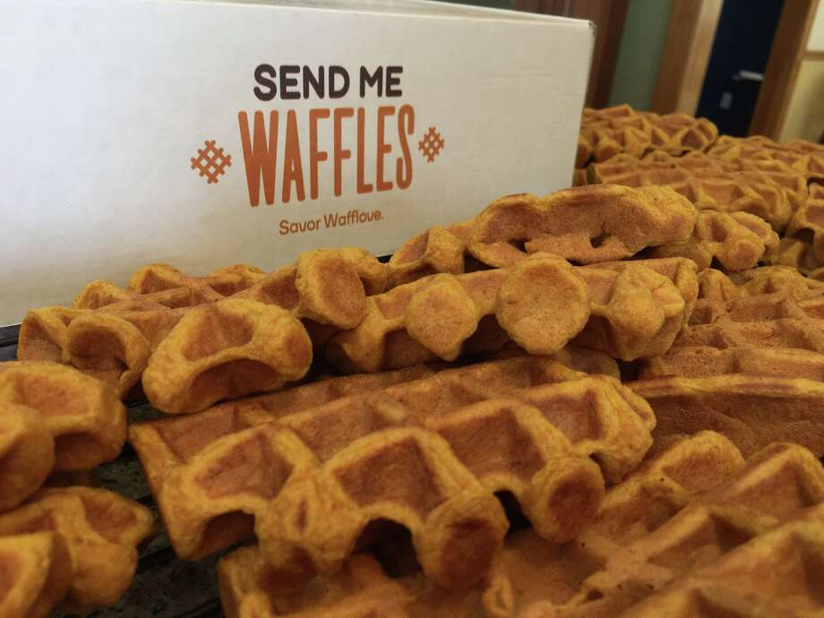 Send Me Waffles is a Clifton Park company that makes shelf-stable Belgian-style Liege sugar waffles available by mail. Photo: Send Me Waffles' Facebook Page