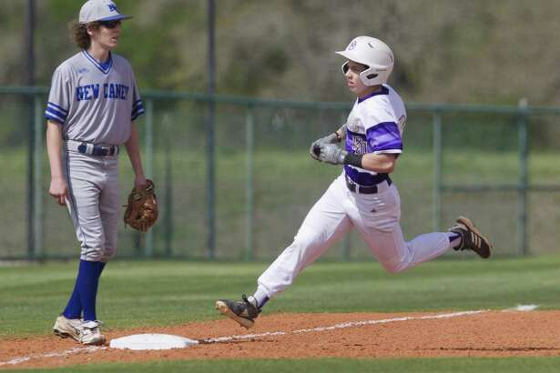 Dalton Davis (5) of Montgomery earned District 20-5A's Offensive MVP award. Davis was the lone player to earn an all-district superlative that was not from district champion Tomball.