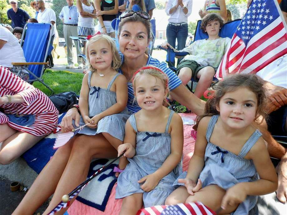 Watching the 2018 Fairfield Memorial Day Parade Photo: Fairfield Citizen File Photo
