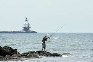 File photo of Lighthouse Point Park in New Haven, Conn.