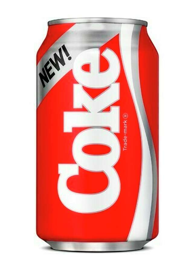 This undated photo provided by Coca-Cola shows a can of New Coke, which was originally launched in the summer of 1985. New Coke is making a comeback as part of Coca-Cola's partnership with the Netflix drama ?Stranger Things.? The companies announced the venture on Tuesday, May 21, 2019. Season 3 of ?Stranger Things? will be set in the summer of 1985. (Coca-Cola via AP) / Coca-Cola