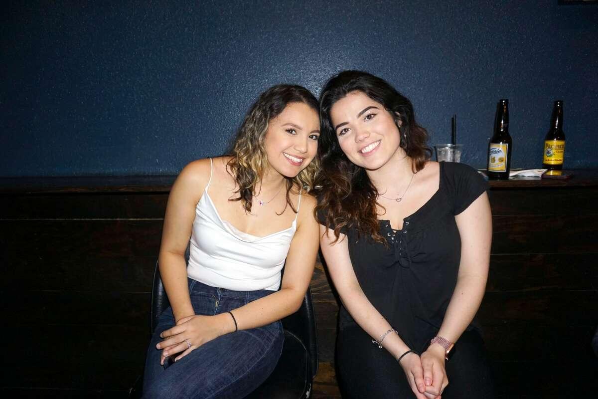 Jasmine Rosles and Alexia Gonzalez at Average Joe's