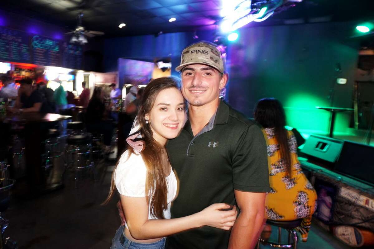 Jessica Garcia and David Brittingham at Average Joe's
