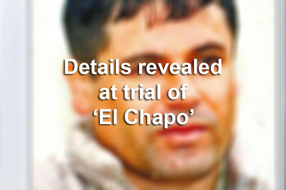 Shocking details from the trial of Joaquín 'El Chapo' Guzmán Photo: Getty Images