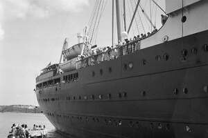 On June 1, 1939, the German liner St. Louis is denied entrance to the Havana, Cuba harbor. The ship, carrying 917 German Jewish refugees, was later denied entrance to the United States and returned to Hamburg, Germany. Many of the refugees then died in the Holocaust.