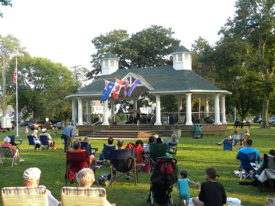 Stratford's 2019 Summer Concert Series takes place June 11 through Sept. 10 at the Paradise Green gazebo every Tuesday at 7 p.m. Photo: Celebratestratford.com