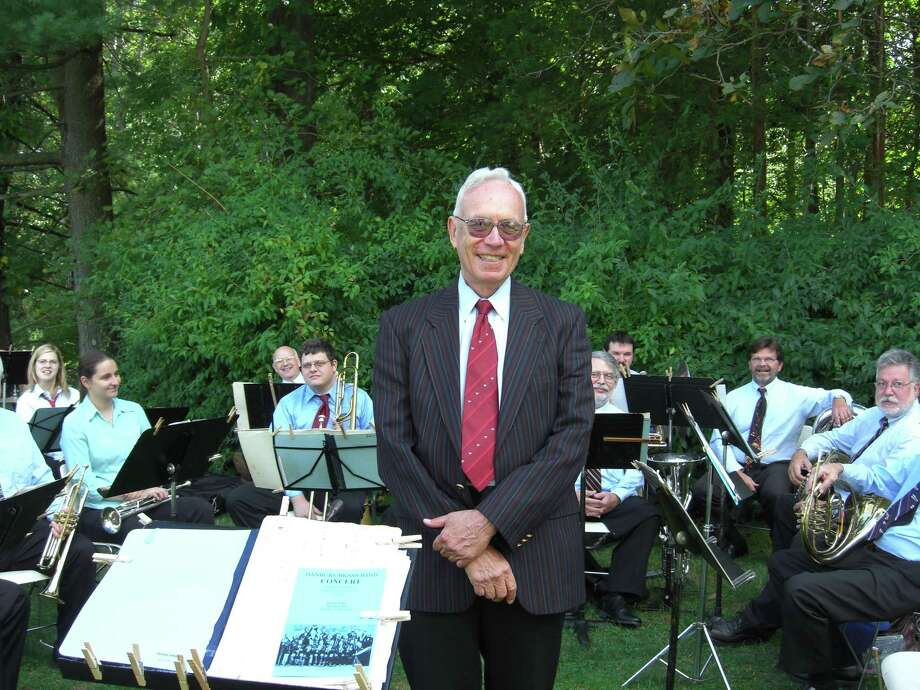 "The Danbury Brass Band, led by Alan Raph, will present its annual Fathers' Day ""POPS"" concert June 16 at Immanuel Lutheran Church in Danbury. Photo: Erica Hunter / Contributed Photo"