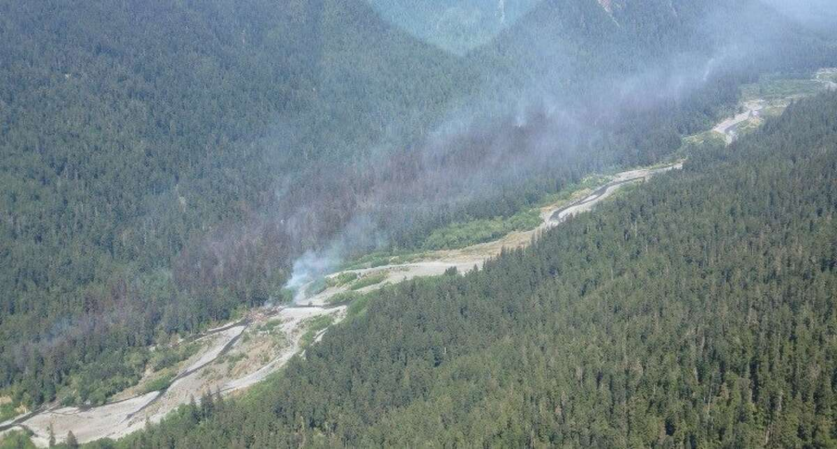 Paradise Fire in Queets Valley, June 2015
