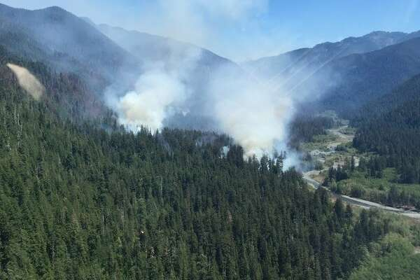 Paradise Fire in Queets Valley, July 2015