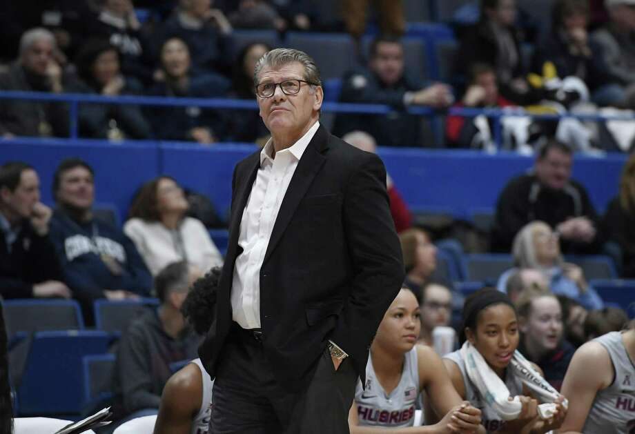 UConn coach Geno Auriemma Photo: Jessica Hill / Associated Press / Copyright 2019 The Associated Press. All rights reserved