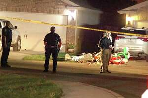 Bexar County deputies responded to the shooting call at about 1:30 a.m. in the 6900 block of Luckey Path and discovered the woman unresponsive with no pulse.