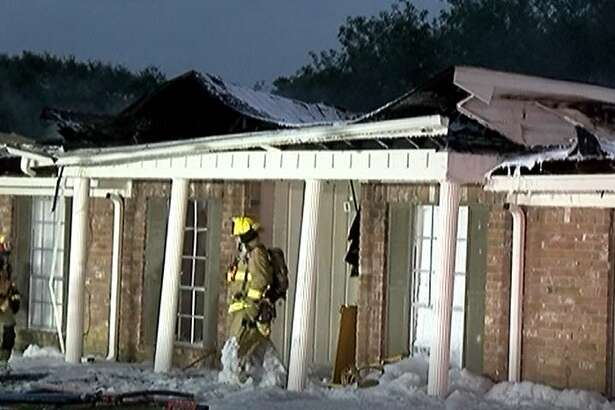 Heavy fire and smoke had engulfed most of the complex when between 40 to 50 firefighters first arrived on scene.