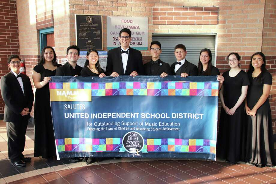 The UISD music program earned the Best Communities for Music Education designation from The NAMM Foundation. Photo: Courtesy Photo